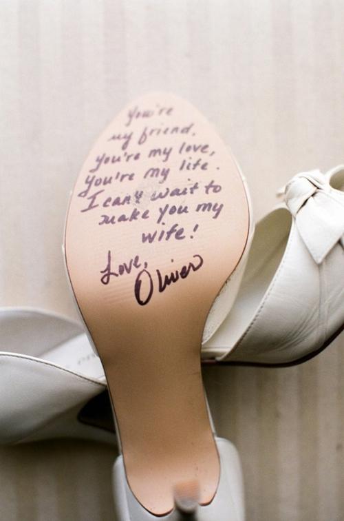 Tu mensaje… en sus zapatos